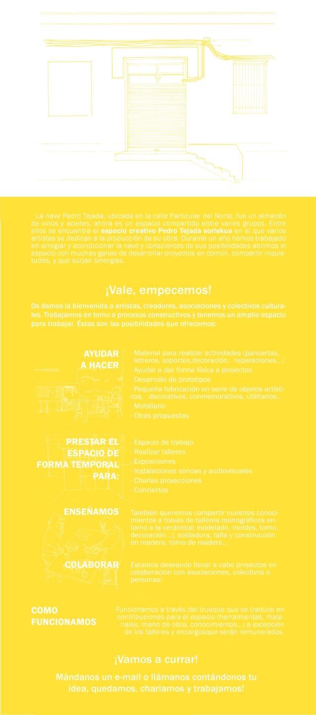 flyer pagina web platano